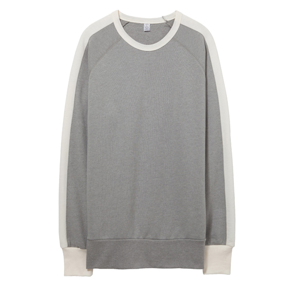 05079BT Alternative Apparel University Vintage Sport French Terry Pullover Sweatshirt
