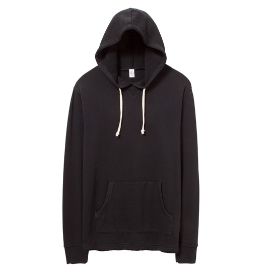 Alternative Apparel School Yard Burnout French Terry Hoodie 08629FH