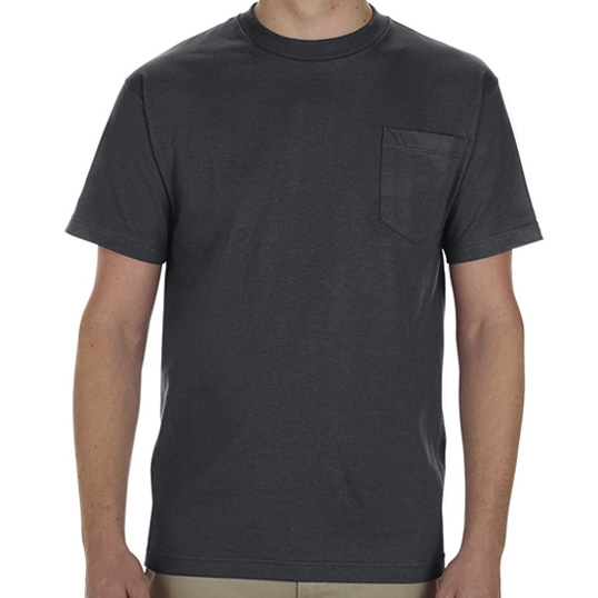 1305 Alstyle Adult Pocket T-Shirt