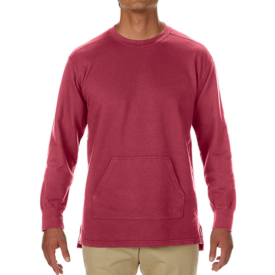 1536 Comfort Colors French Terry Pocket Crew