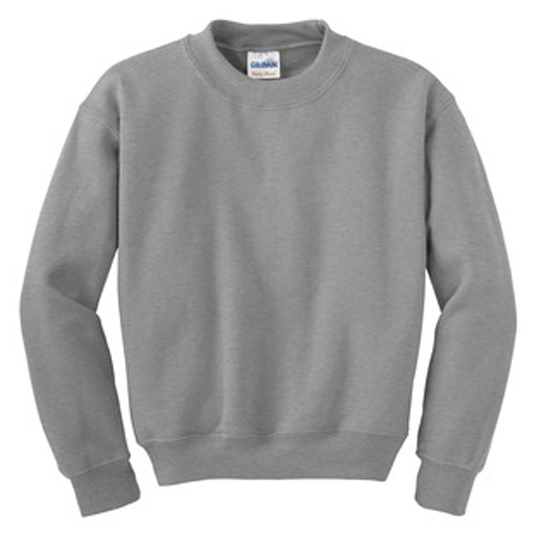 18000B Gildan Youth Heavy Blend Crewneck Sweatshirt