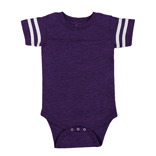 4437 Rabbin Skins Infant Football Bodysuit