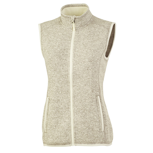 5722 Charles River Women's Pacific Heathered Vest