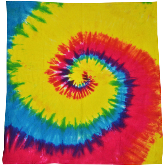 6100 Colortone Tie Dye Throw Blanket