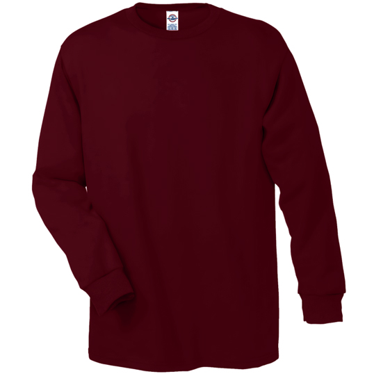 61748 Delta Apparel Pro Weight 5.2oz Long Sleeve Tee