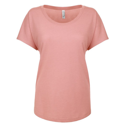 6760 Next Level Ladies Triblend Dolman