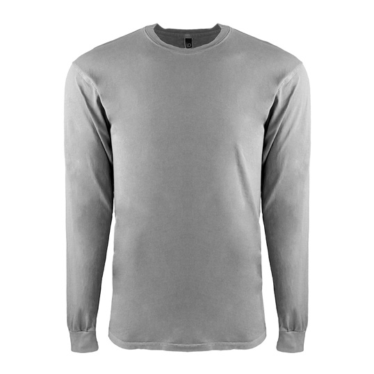 7401 Next Level Apparel Inspired Dye Long Sleeve Crew