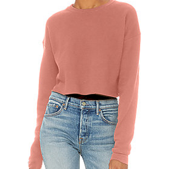 7503 Bella + Canvas Women's Boxy Crew Fleece