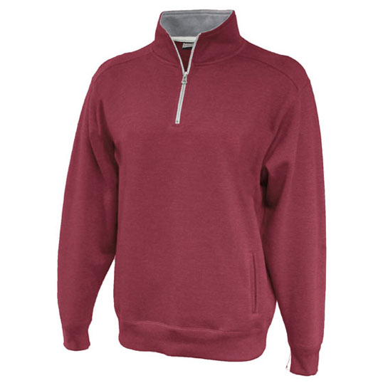 8107 Pennant Sportswear Throwback Quarter Zip