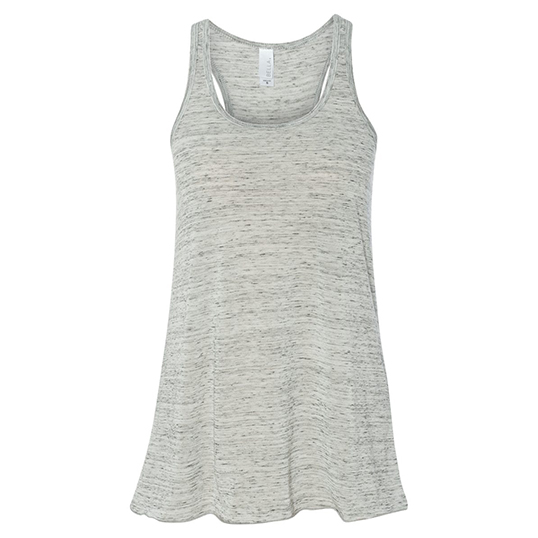 8800 Bella Ladies Flowy Racerback Tank