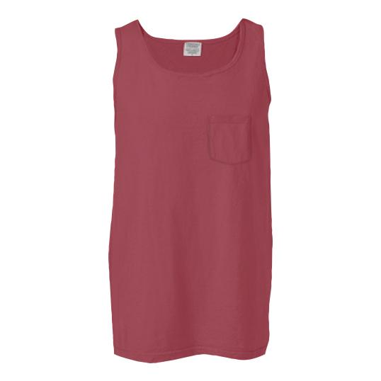 9330 Comfort Colors Pocket Tank