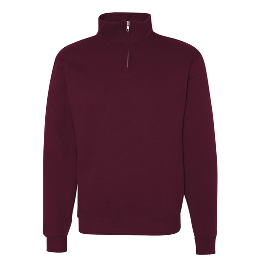 995m Jerzees NuBlend Quarter Zip Cadet Collar Sweatshirt