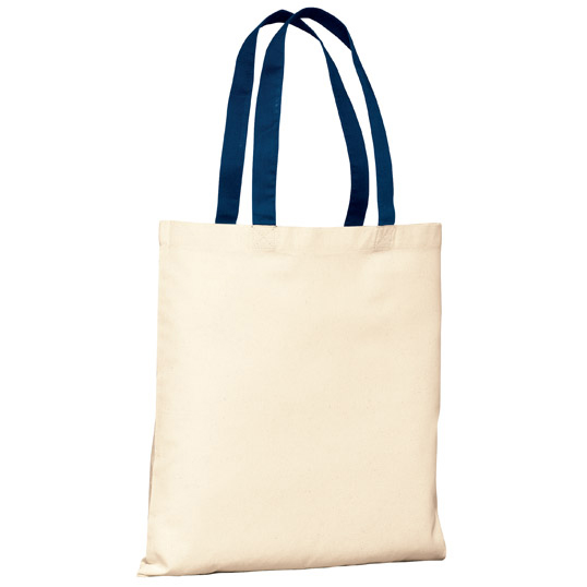 B150 Port Authority 100% Cotton Budget Tote