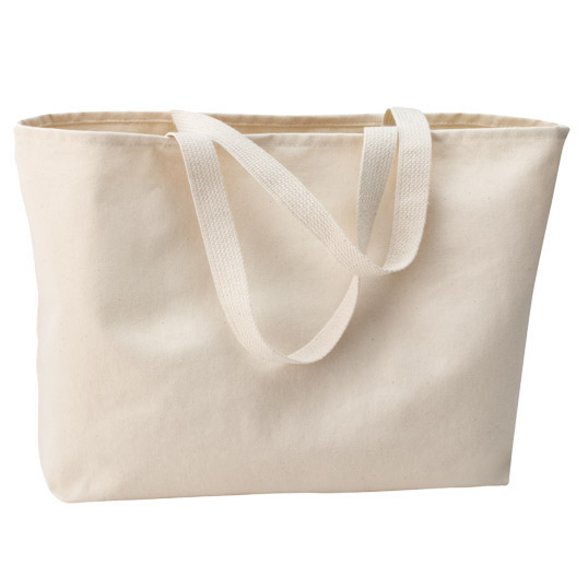 B300 Port Authority Jumbo Cotton Twill Tote Bag