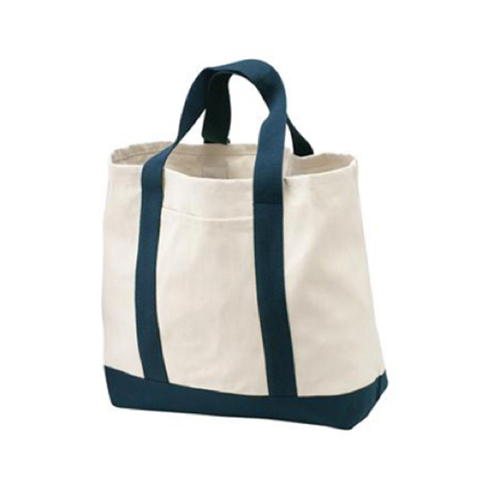 B400 Port Authority 2 Tone Shopping Tote