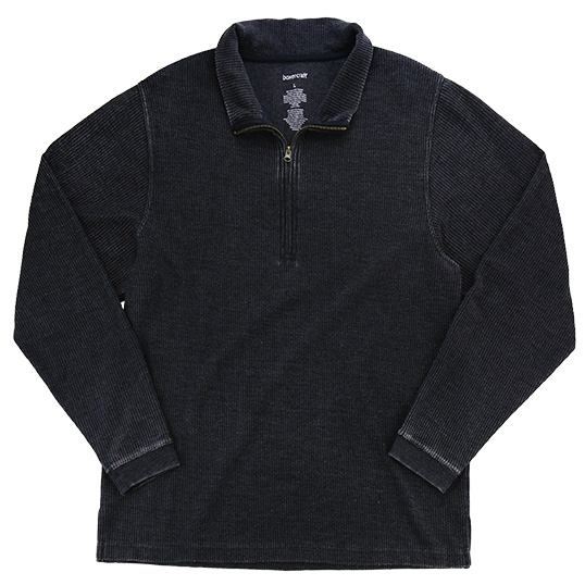 D03 Boxercraft Rally Corduroy Quarter-Zip