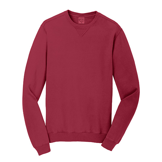 PC098 Port & Company Essential Pigment Dyed Crewneck Sweatshirt