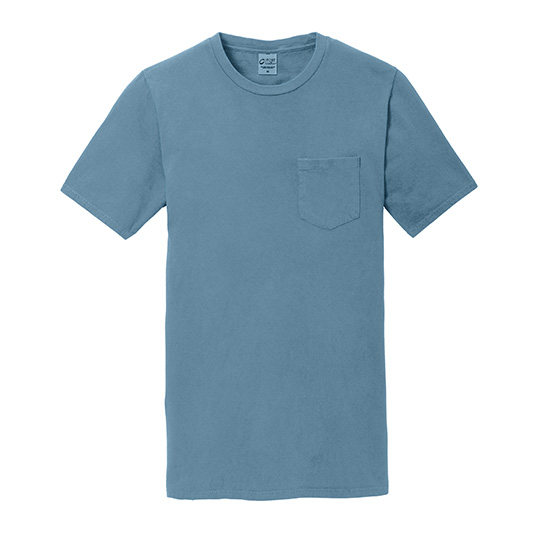 PC099P Port & Company Essential Pigment Dyed Pocket Tee