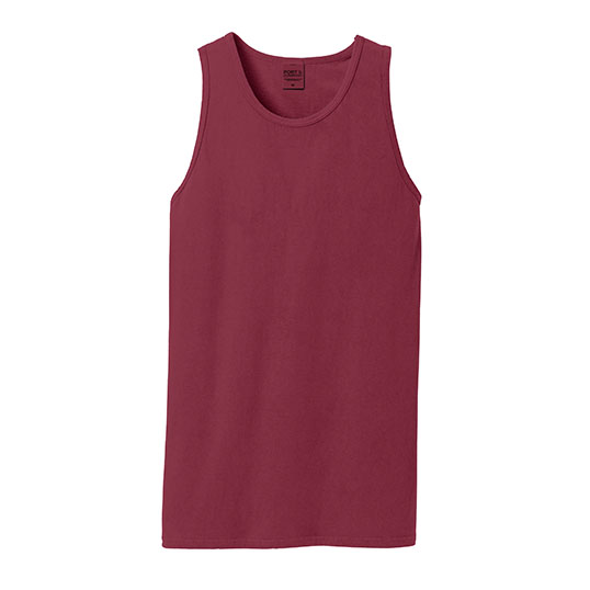 port & company pigment dyed tank top pc099tt