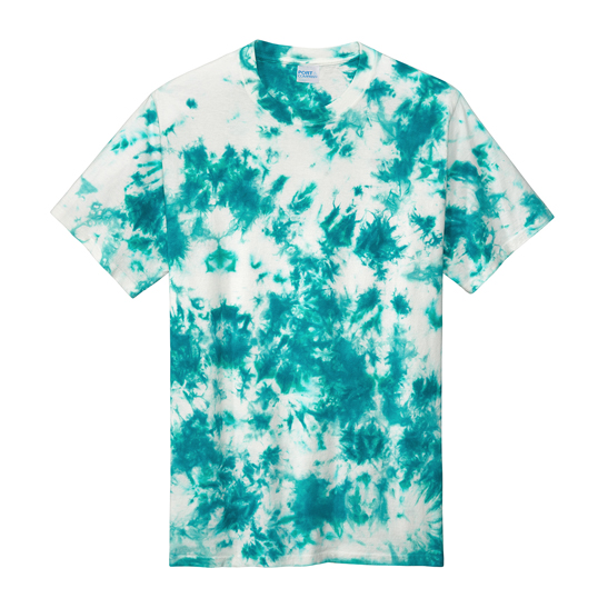 PC145 Port & Company  Crystal Tie-Dye Tee