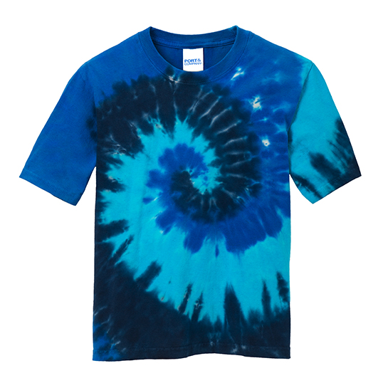 PC147Y Port & Company Youth Tie-Dye Tee