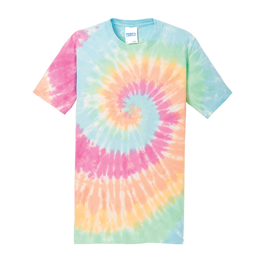 Pc147 port company tie dye tee south by sea for Custom tie dye shirts no minimum
