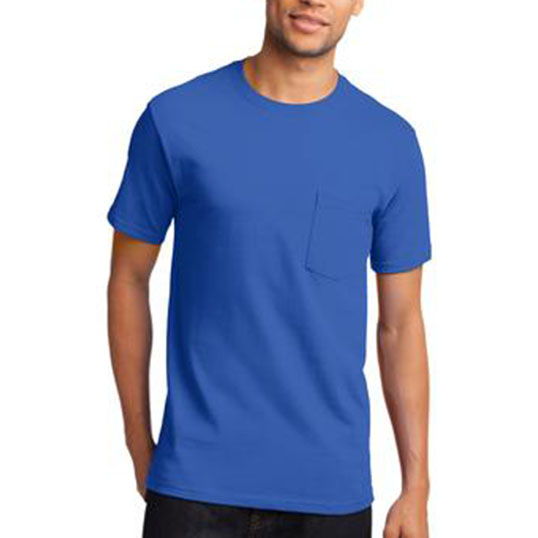 Pc61P Port & Company Essential Pocket Tee