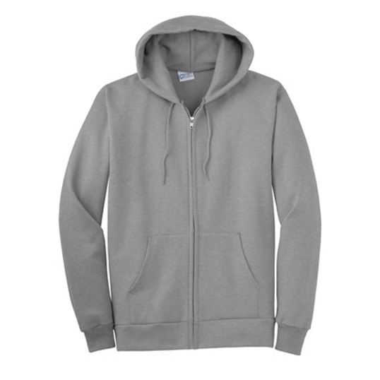 PC90ZH Port & Company Full-Zip Hooded Sweatshirt