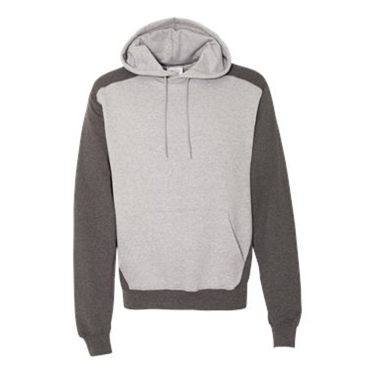 S750 Champion Double Dry Eco Colorblocked Hooded Sweatshirt