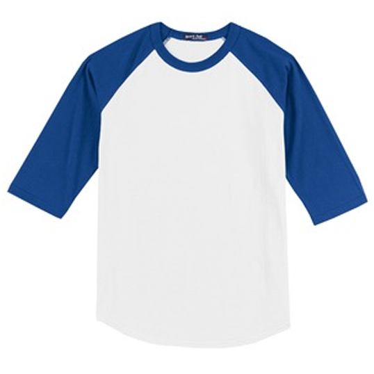 YT200 Sport-Tek Youth Colorblock Raglan Jersey