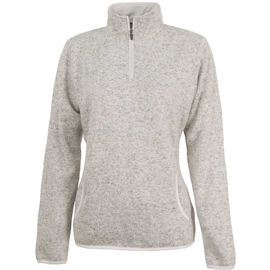 5312 Charles River Women's Heathered Fleece Pullover