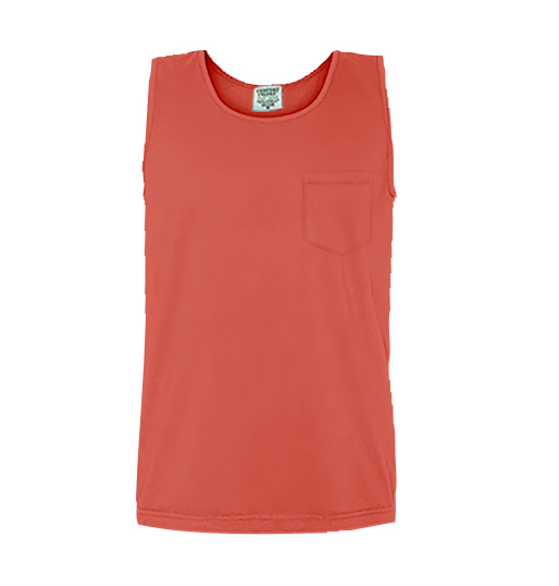 Comfort Colors Pocket Tank 9330