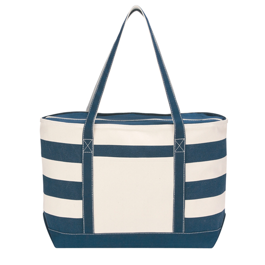 3240 Cotton Canvas Nautical Tote