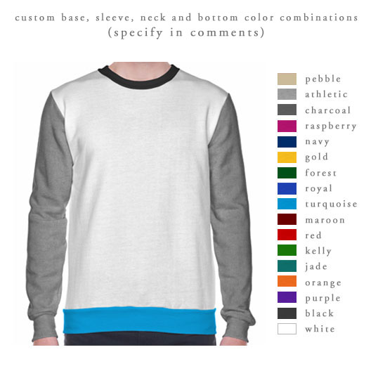 81/52 Jerico Color Block Sweatshirt