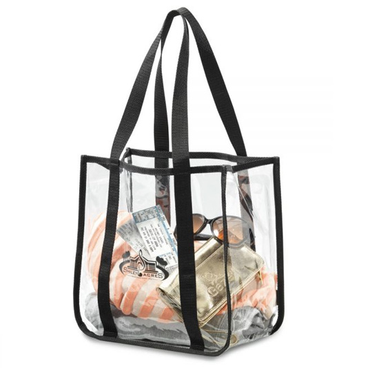 1120 Gemline Clear Event Tote